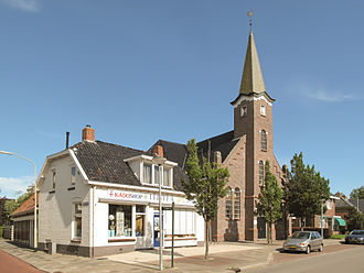Aduard - Reformed church in 2013