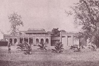 Theosophical Society - Main building of the Theosophical Society in Adyar, India, 1890