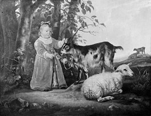 The Little Girl with the Goat