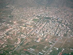 Bayındır - Image: Aerial view of Bayındır, Izmir