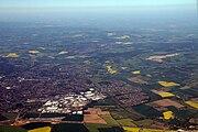 Aerial view of Hemel Hempstead 2007