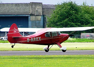 Aeronca Sedan general aviation aircraft by Aeronca in the United States