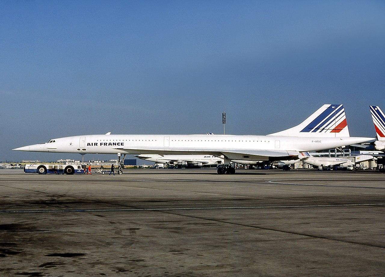 Le Concorde impliqué dans l'accident