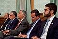 Afghan President Ghani's Advisors Listen During Joint Press Availability (26239043312).jpg
