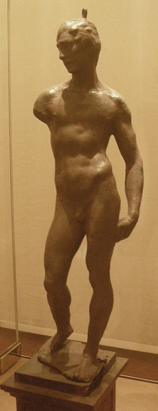 After michelangelo, nudo virile (from original work of 1501-1503) 2.JPG