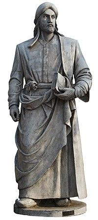 Afzal al-din badil khaghani statue-tabriz.jpg