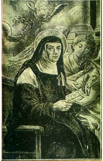 Inés de Benigánim - 18th-century image.
