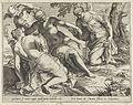 Agostino Carracci - Mercurius en de Gratiën, 1589.jpg