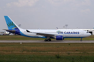 Air Caraïbes - Air Caraïbes Airbus A330 in former livery