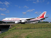 Boeing 747-400 in 1970-2007 livery