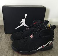 new style 39d40 498a3 Nike Air Jordan VIII, (Playoffs Colorway)