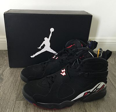 new style dbc62 50a42 Nike Air Jordan VIII, (Playoffs Colorway)