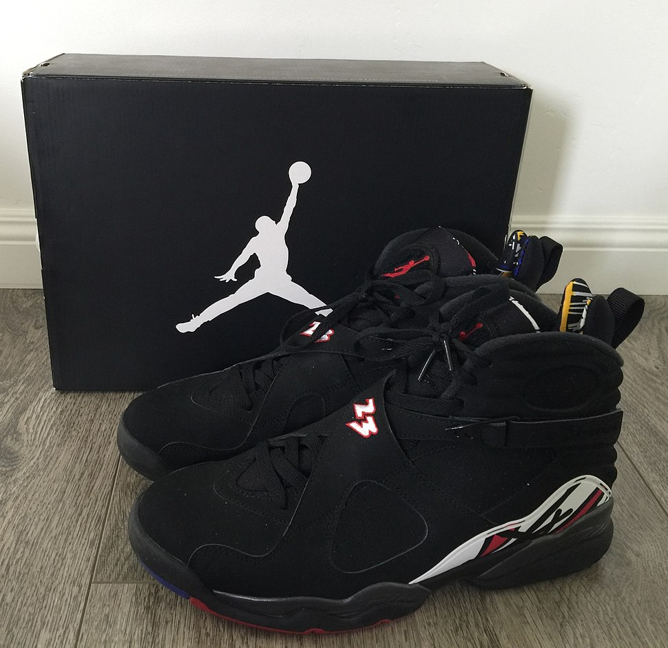 new york 7d382 d2611 Air Jordan VIII, (Playoffs Colorway)