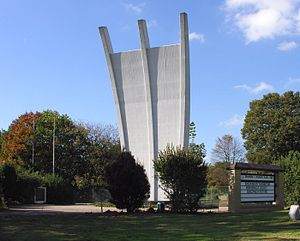 Rhein-Main Air Base - Berlin Airlift Memorial (built in 1985).