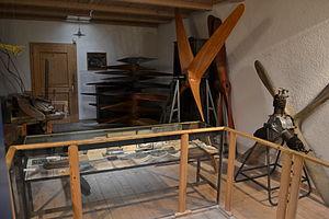 Airscrew factory, Museo dell'aeronautica Gianni Caproni.JPG