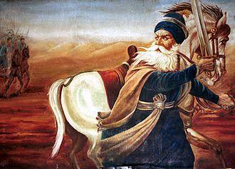 Baba Deep Singh - Image: Akali Deep Singh