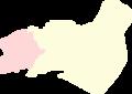 Al-Mukharram blank subdistricts 2013.png