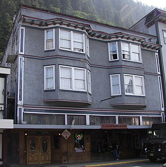National Register of Historic Places listings in Juneau, Alaska - Image: Alaskan Hotel and Bar, Juneau, Alaska cropped