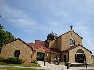 Eastern Orthodoxy in North America - Albanian Orthodox Church in Worcester, Massachusetts.