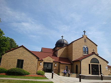 The Albanian Orthodox Church in Worcester, Massachusetts Albanian Orthodox Church in Worcester.jpg