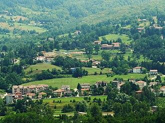 Albareto - Image: Albareto panorama