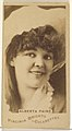Alberta Paine, from the Actors and Actresses series (N45, Type 1) for Virginia Brights Cigarettes MET DP829895.jpg
