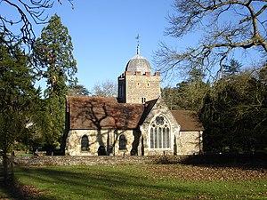 Albury Park - St Peter and St Paul Chapel in Albury Estate