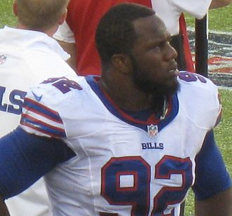 Alex Carrington - Carrington with the Buffalo Bills