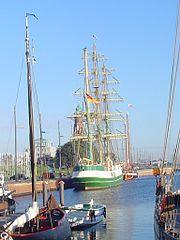 Die Alex in Bremerhaven
