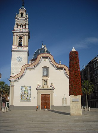 Alfafar - Image: Alfafar. Església Verge del Do 4