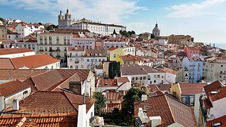 Alfama Neighborhood of Lisbon