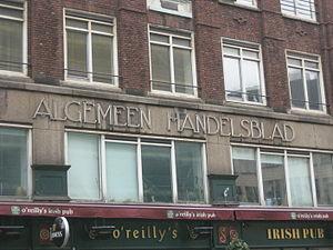 Algemeen Handelsblad - Paleisstraat (Amsterdam)