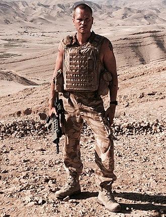 Ali Cook - Image: Ali Cook as Sgt. Paul Mc Mellon in Kajaki