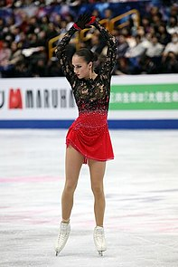 Alina Zagitova at the World Championships 2019 - Free program 01.jpg