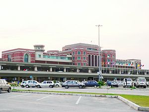 The Allama Iqbal International Airport, Lahore