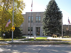 Allamakee County, Iowa - Image: Allamakee County Courthouse