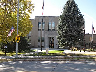 Allamakee County Court House - Image: Allamakee County Courthouse