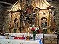 Altar mayor , iglesia Parroquial Garabelos, Bande Ourense.jpg