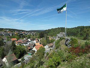 Auf der Schützenklippe in Altenau