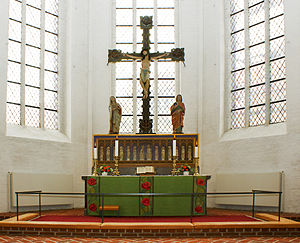 Haderslev Cathedral - High altar