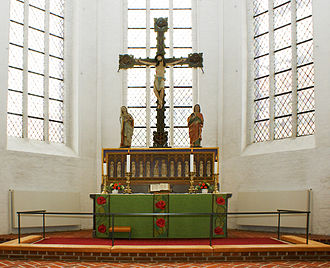 Haderslev Cathedral - High altar
