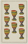 Aluette card deck - Grimaud - 1858-1890 - Eight of Cups.jpg