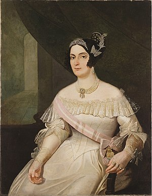 Mistress (lover) - Domitila de Castro, long-term mistress of Emperor Pedro I of Brazil