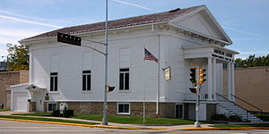 National Register of Historic Places listings in Fond du Lac County, Wisconsin - Image: American Legion Ripon WI