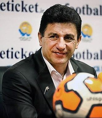 Sepahan S.C. - Amir Ghalenoei, the current head coach of the club