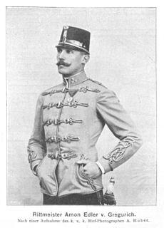 Amon Ritter von Gregurich Hungarian fencer
