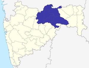 Amravati division - Image: Amravati Division