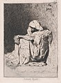 An Arabic man seated on the ground, head partly covered MET DP876112.jpg