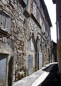 Ancienne synagogue, rue Paul Bert, Trets, Bouches-du-Rhône (France).JPG