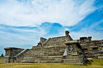 Lalitaditya Muktapida - Ruins at Parihasapura